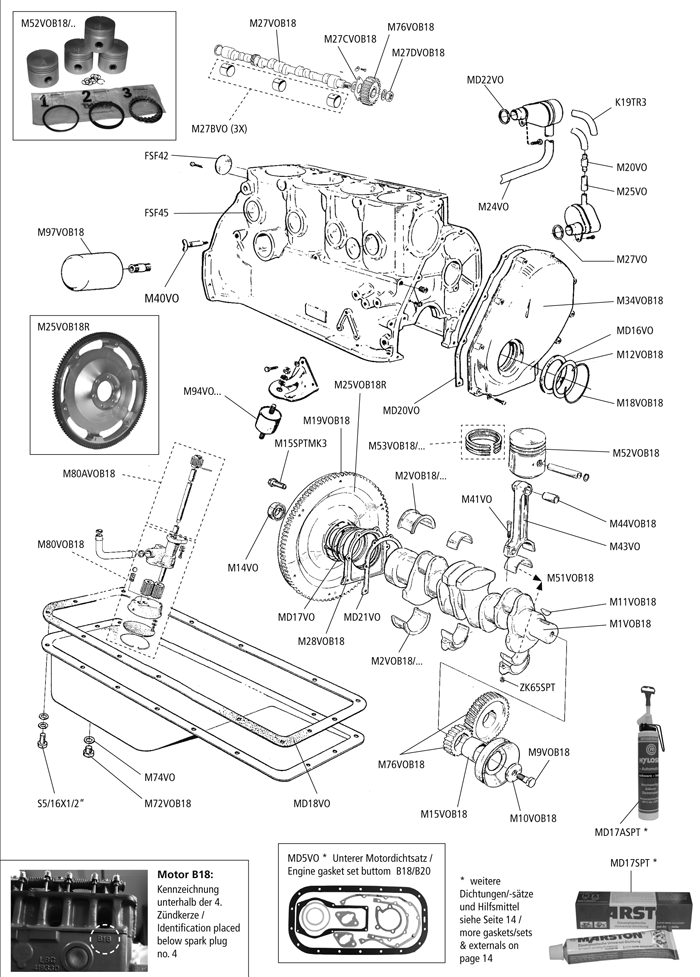 b18 transmission diagram
