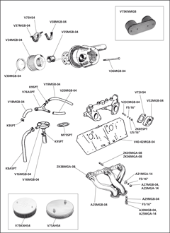 1953 Mg Td Wiring Diagram together with Mg Td Wiring Harness Installation besides 952 4 Air Filter Manifold moreover Mgb Fan Switch Wiring additionally Mgb Engine Diagram. on mg mgb wiring diagram